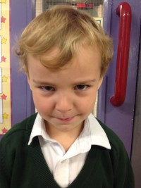 I get grumpy when my Mummy goes to work!